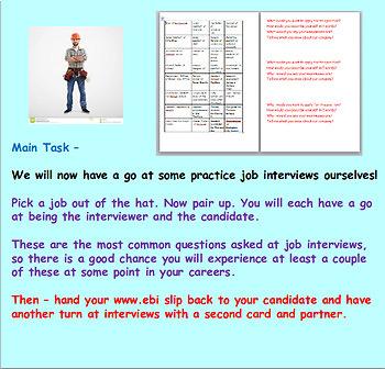 Employment: Job Interviews: Careers