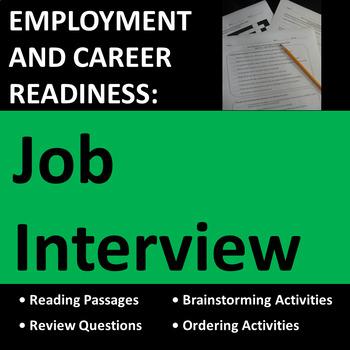 Employment & Career Readiness: Job Interview Activities