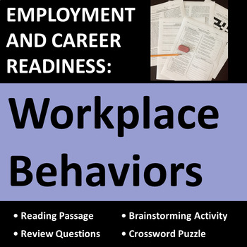 Employment & Career Readiness: Workplace Behaviors Activities