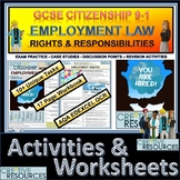 Employment Rights and Responsibilities  Booklet of Student Activities and Worksh