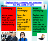 Employment and Careers - Presentation and Worksheets