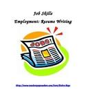 Employment Skills:  Resumes