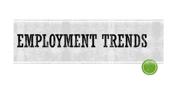 Employment Trends Lesson