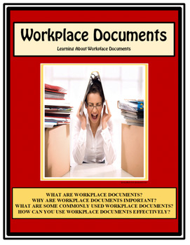 Employment, WORKPLACE DOCUMENTS, Vocational,