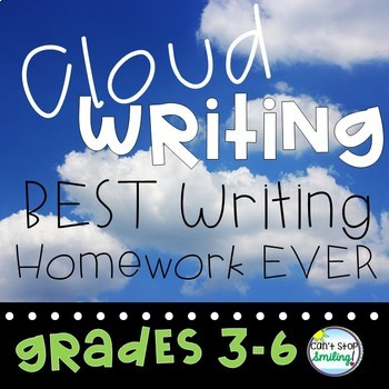 Empower Your Writers ~ Creative Writing Homework Using Cloud Writing