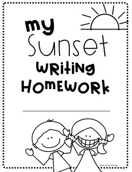 Empower your Writers ~ Creative Writing Homework Using Sunset Writing
