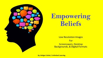Empowering Beliefs Low Resolution Images for Digital Formats