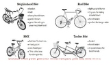 Empowering Writers Third Grade Bicycles Unit Lesson Supplements
