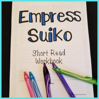 Empress Suiko Short Read with Summary Workbook