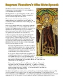 Empress Theodora Primary & Secondary Source Analysis for t