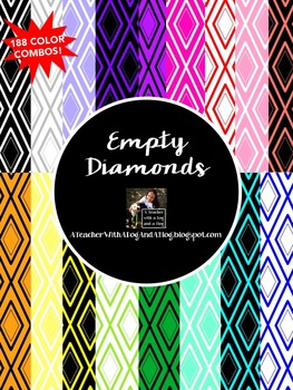 Empty Diamonds Backgrounds