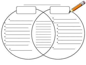 Empty Venn Diagram for Elementary Students