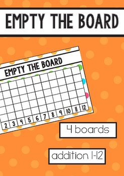 Empty the Board - Addition Game