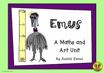 Mathematical Tasks and Art Activities about Emus