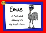 Informational Texts and Math Tasks About Emus!