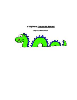 En Busca del Monstruo Comprehension Question Packet