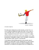 Spanish 1  El Mundo de Deportes Reading comprehension