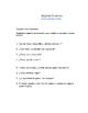 En Espanol 1 Unidad 4 etapa 1  Survey & partner questions