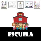 En La Escuela (back to school-spanish)