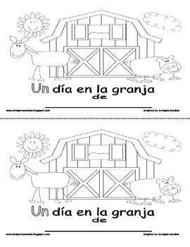 Spanish Sight Word-Un dia en la granja
