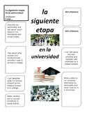 En La Universidad - Vocabulary List and Unit Goals - College Life