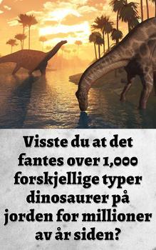 En Lomme Full av Dinosaurer (Norwegian Edition)