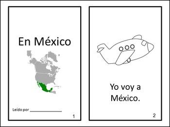 En México ~ Spanish Interactive Positional Words Reader {delante de,detrás de..}