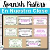En Nuestra Clase Spanish Class Poster Set