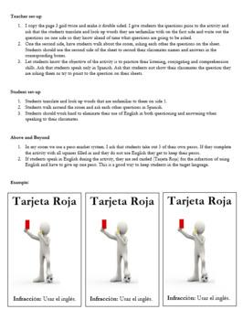 En Tu Tiempo Libre- Interpersonal Speaking Practice - Activities Walk About