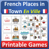 En Ville French Places in Town Community Buildings Games a