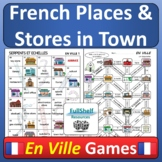 En Ville French Places in Town and Stores Les Magasins Gam