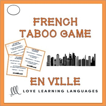 En Ville - French Taboo Speaking Game