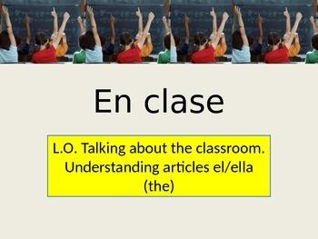 En clase / In class en Espanol