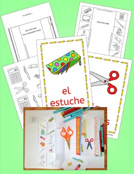 Spanish classroom and school vocabulary - En Clase - activities, puzzles, games