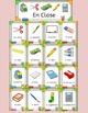 En clase - Spanish classroom and school vocabulary - activ