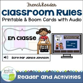 French Class Rules Reader {En classe} & Sorting Page {Les règles en français}