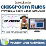 French Class Rules Reader {les règles} + BOOM™ Version w Audio {en français}