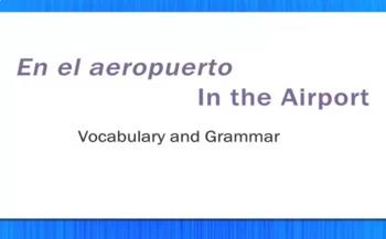 En el Aeropuerto - In the Airport - Video Tutorial