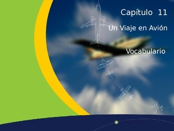 En el Avion Vocabulary