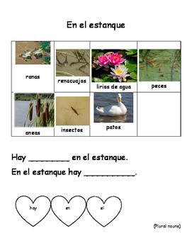 Ready Gen Unit 1 Module B - Life in a Pond / En el Estanque SPANISH
