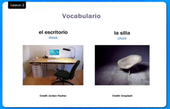 En el Salón de Clases - In the Classroom - Video Tutorial
