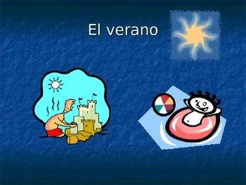 En el Verano y el Invierno Vocabulary