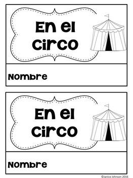 En el circo ~ Spanish Circus Animal Reader Book {en español}