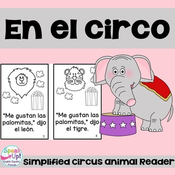 En el circo ~ Spanish Circus Animal Reader Book {en español}