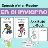 En el invierno Spanish Reader & Build-A-Book for Winter