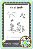 En el jardín In the Garden Printable Spanish Minibook