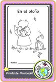 En el otoño Fall Autumn Printable Spanish Minibook