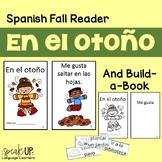 En el otoño Spanish Reader & Build-A-Book for fall / autumn