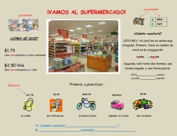En el supermercado/At the grocery store