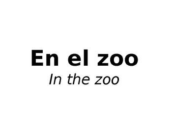 En el zoo / Zoo animals